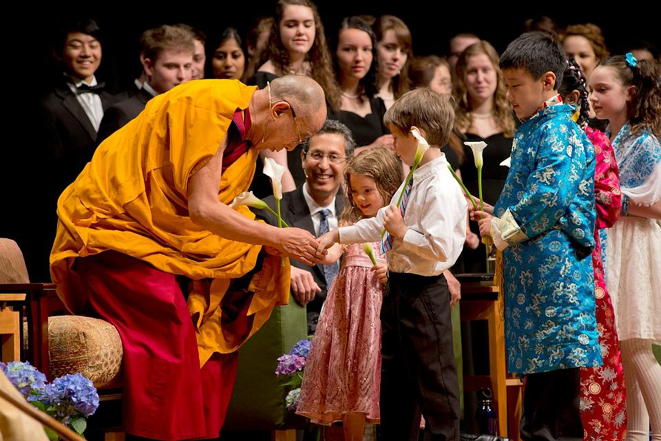 Dalai Lama University of Portland in Portland, Oregon on May 9, 2013