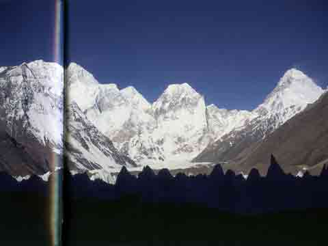 Broad Peak Main, Central And North Summits, And K2 From Northeast Chinese Side - 8000 Metri Di Vita, 8000 Metres To Live For book