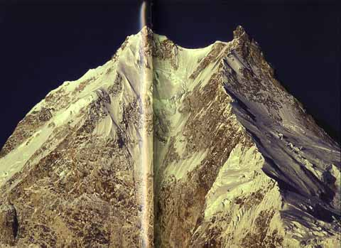 Manaslu East Face - 8000 Metri Di Vita, 8000 Metres To Live For book back cover