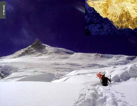Climbing on the 1956 Japanese Manaslu North Route - 8000 Metri Di Vita, 8000 Metres To Live For book