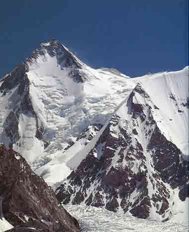 Gasherbrum I From Upper Abruzzi Glacier - All Fourteen 8000ers (Reinhold Messner) book