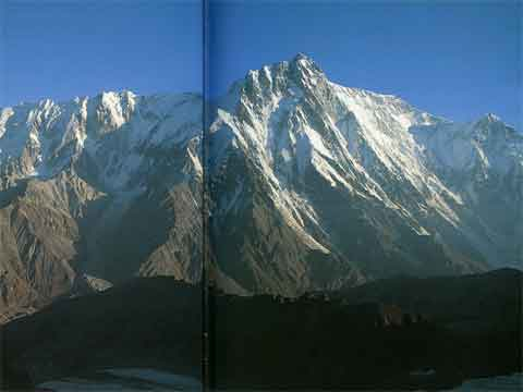 Mazeno Rudge And Nanga Parbat Rupal Face From South - All Fourteen 8000ers (Reinhold Messner) book