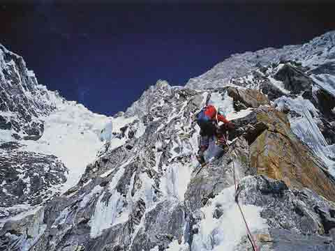 Vince Anderson Climbing Nanga Parbat Rupal Face September 2005 - Beyond The Mountain book