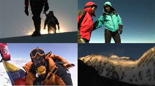 Jose Antonio Delgado And Edgar Guariguata Climb Humboldt Glacier To Summit December 2005, Jose Antonio Delgado on Everest Summit May 23 2001, Nanga Parbat Diamir Face - Beyond the Summit DVD
