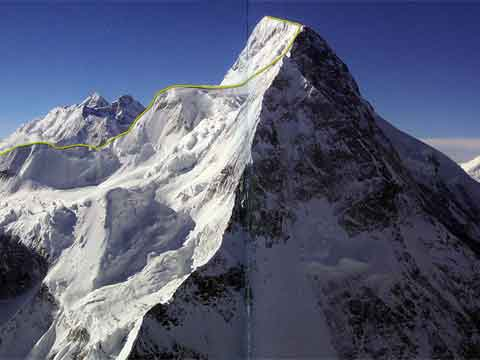 Broad Peak First Ascent Central Summit From Chinese Side 1992 Route - 8000 Metri Di Vita 8000 Metres To Live For book
