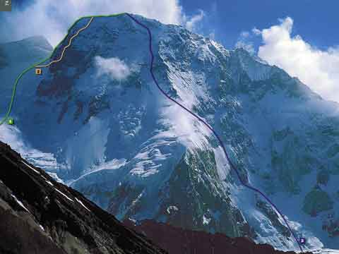Broad Peak First Ascent Southwest Face Route -  8000 Metri Di Vita 8000 Metres To Live For book