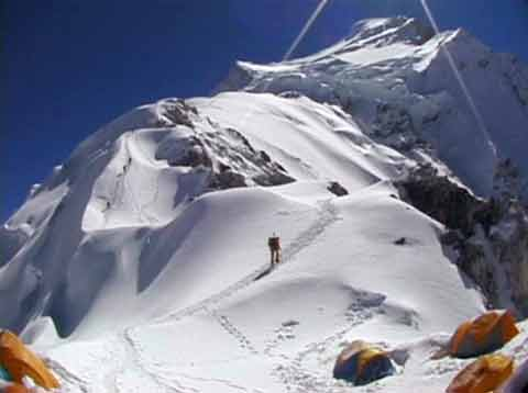 Cho Oyu From Camp 1 - Cho Oyu: West Of Everest DVD