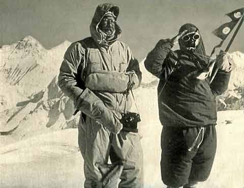 Cho Oyu First Ascent - Herbert Tichy and Pasang Dawa Lama on Cho Oyu Summit October 19, 1954 - Cho Oyu by Herbert Tichy book
