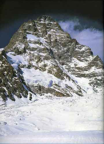 K2 West Face from Savoia Glacier 1978 - Chris Bonington Mountaineer book