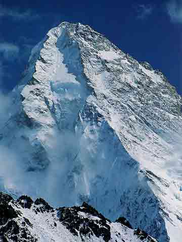 K2 North Face From Above Suget Jangal - Climb Every Mountain book