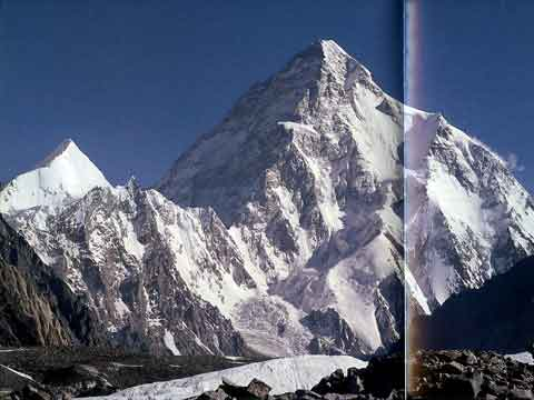 K2 From Near Concordia - Climbing the World's 14 Highest Mountains: The History Of The 8000-Meter Peaks book
