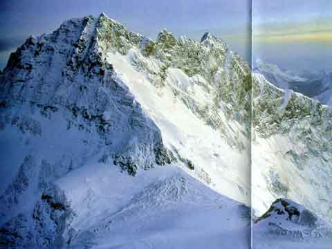 Lhotse East And West Faces And South Col From Everest - Climbing The Worlds 14 Highest Mountains book