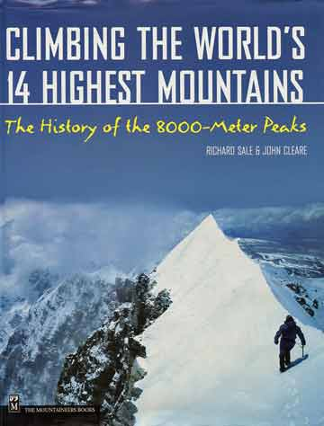 Alex MacIntyre on the ridge between the Shishapangma Main Summit and the Central Summit May 28, 1982 - Climbing The Worlds 14 Highest Mountains book cover