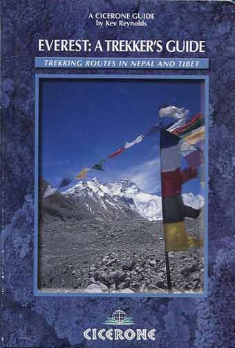 Everest North Face - Everest: A Trekkers Guide book cover