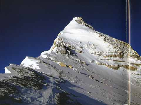 Everest North Face Summit Area - Everest: The History of the Himalayan Giant 2007 book