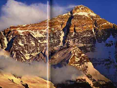 Everest North Face - Everest: The History of the Himalayan Giant book