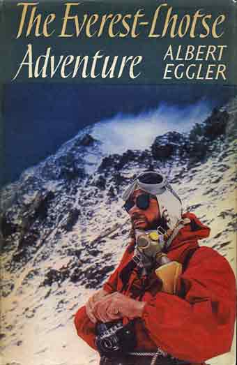 Fritz Luchsinger On Yellow Band - Everest-Lhotse Adventure book cover