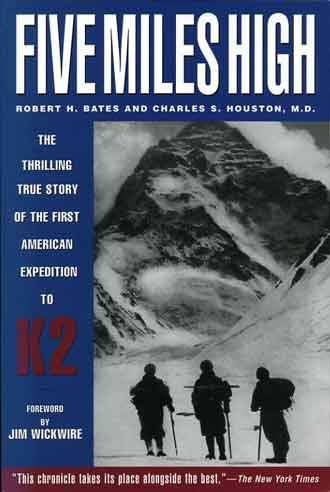 K2 West Face - Five Miles High book cover