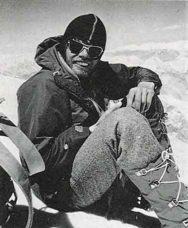 Reinhold Messner On Gasherbrum I Summit August 10 1975 - G I und G II Herausforderung Gasherbrum book