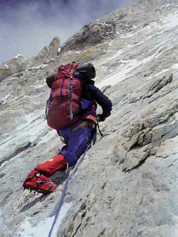 Gasherbrum IV First Ascent West Face - Wojciech Voytek Kurtyka Climbing - World Mountaineering book