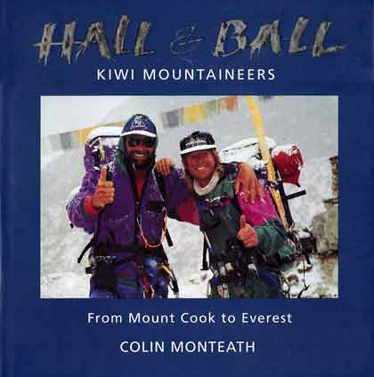Rob Hall and Gary Ball After Their First Guided Ascent Of Everest 1992 - Hall and Ball book cover