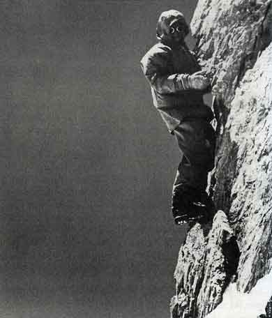 Hermann Buhl Climbs The Summit Needle Of Rakhiot Peak June 21, 1953 - Hermann Buhl Climbing Without Compromise book
