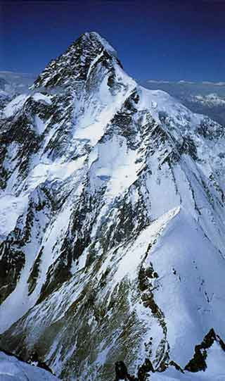 K2 Full Abruzzi Spur View - Himalaya Alpine Style: The Most Challenging Routes on the Highest Peaks book