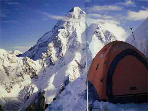 K2 From Broad Peak - Himalayan Quest: Ed Viesturs on the 8,000-Meter Giants book