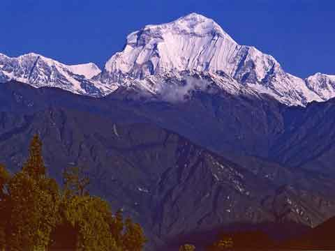 Dhaulagiri South Face From Ghorapani - Himalayan Trails (Sentiers de l'Himalaya) book