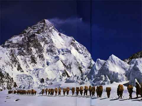 Porters For 1975 American Expedition Near K2 - K2: A Challenge To The Sky book