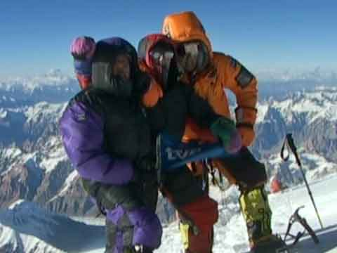 Juanito Oiarzabal On K2 Summit July 26, 2004 - K2: El Gran Cristal Y El Leon Domado (Al Filo De Lo Imposible) DVD