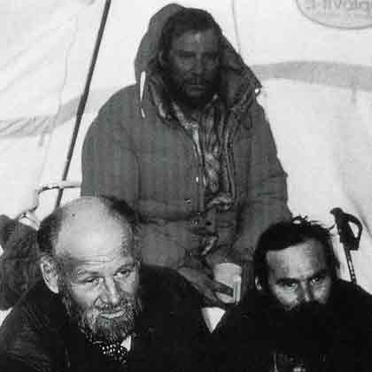 K2 First Ascent South Face 1986 - Kurt Diemberger, Jerzy Kukuczka, Janusz Majer - The Endless Knot book