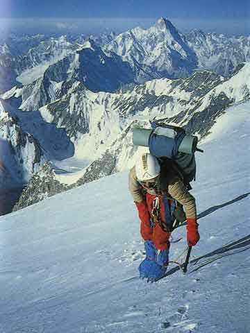 K2 First Ascent South-South-West Ridge 1986 - Przemyslaw Piasecki Crossing The Mushroom - K2 Triumph And Tragedy book