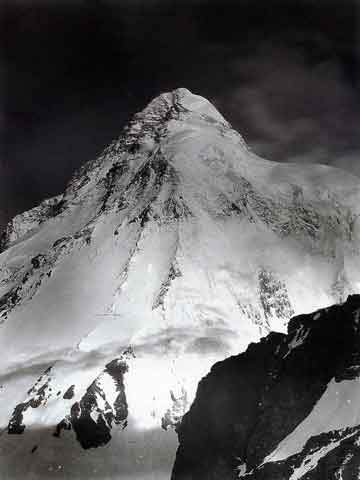 K2 Italian Attempt 1909 - K2 Abruzzi Route By Vittorio Sella - K2 A Challenge To The Sky book