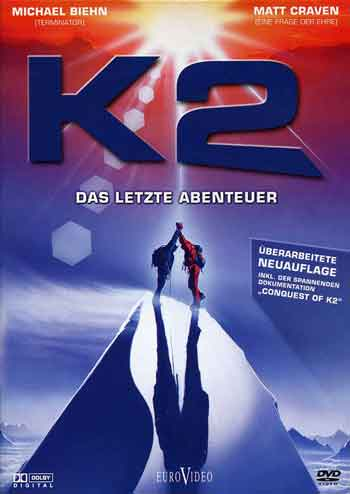 K2: The Ultimate High German version K2: Das Letzte Abenteuer DVD cover