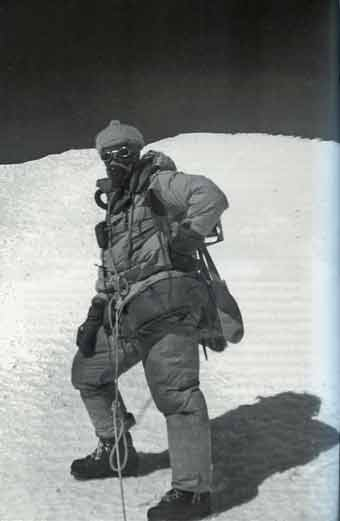 Kangchenjunga First Ascent - George Band Next To The Untrodden Kangchenjunga Summit May 25, 1955