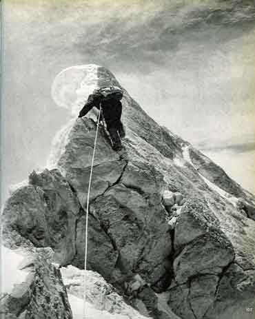Walter Bonatti Leads The Last Few Metres To Gasherbrum IV Summit August 6, 1958 - Karakoram The Ascent Of Gasherbrum IV book