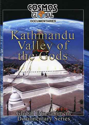 Boudhanath Stupa in the Kathmandu Valley - The Three Royal Cities Of Nepal DVD cover