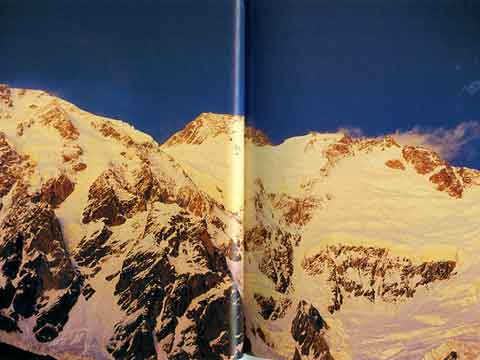 Nanga Parbat Diamir Face At Sunset - Los 14 Ochomiles de Juanito Oiarzabal book