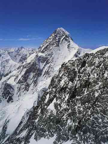 K2 From Broad Peak - Los Ochomiles: Karakorum e Himalaya book