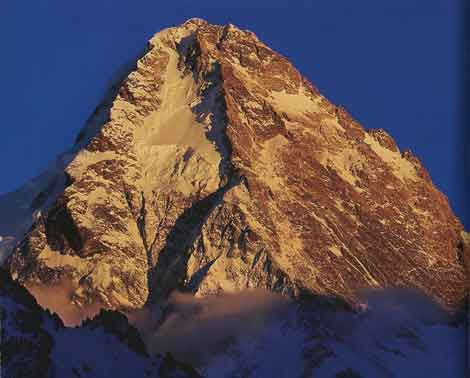 K2 North Face At Sunset - Los Ochomiles: Karakorum e Himalaya book