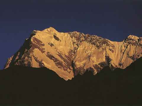 Nanga Parbat Rupal Face And East Face At Sunset - Los Ochomiles: Karakorum e Himalaya book
