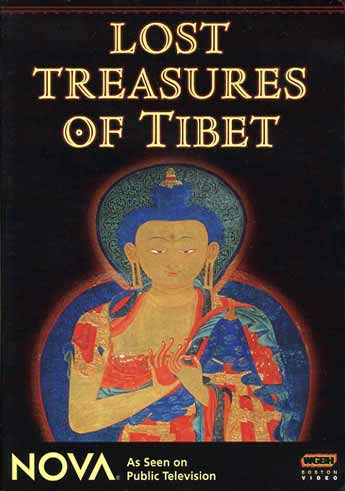 Restored Shakyamuni Buddha painting at Thubchen gompa in Lo Monthang - Lost Treasures Of Tibet (Mustang) DVD cover