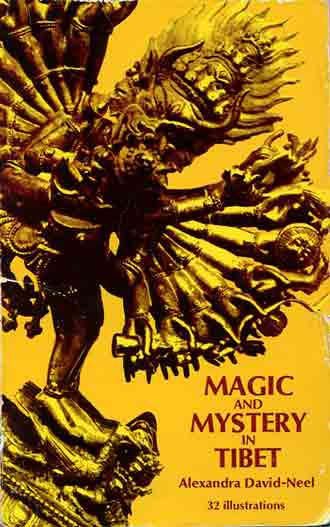Magic and Mystery in Tibet book cover