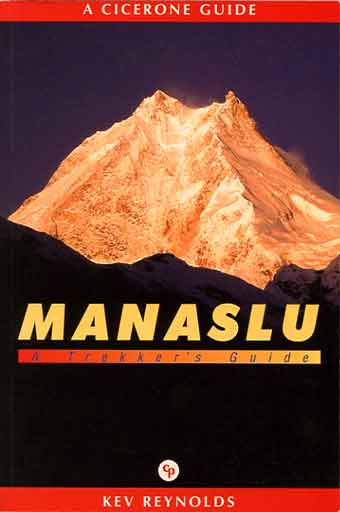 Manaslu Sunrise From South - Manaslu: A Trekkers Guide book cover