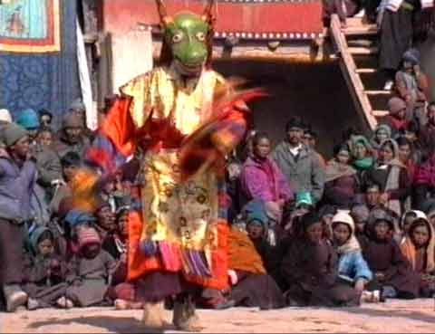 Tibet Monk Masked Dance - Buddhism On The Roof Of The World DVD