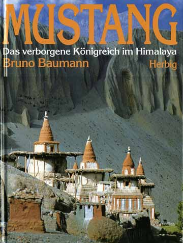 Tangbe chortens in Upper Mustang - Mustang: Das verborgene Königreich im Himalaya book cover