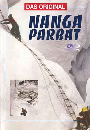Climbing Rope Ladder - Nanga Parbat 1953 DVD cover