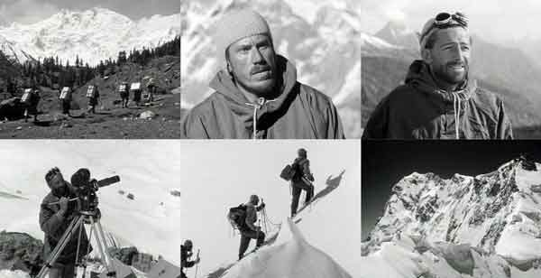 Trekking To Base Camp With Nanga Parbat, Karl Herrligkoffer, Hermann Buhl, Hans Ertl, Hermann Buhl Leading, Nanga Parbat Summit Ridge - Nanga Parbat 1953 DVD