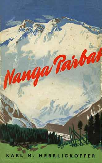 Nanga Parbat painting - Nanga Parbat: Incorporating the Official Report of the Expedition of 1953 book cover